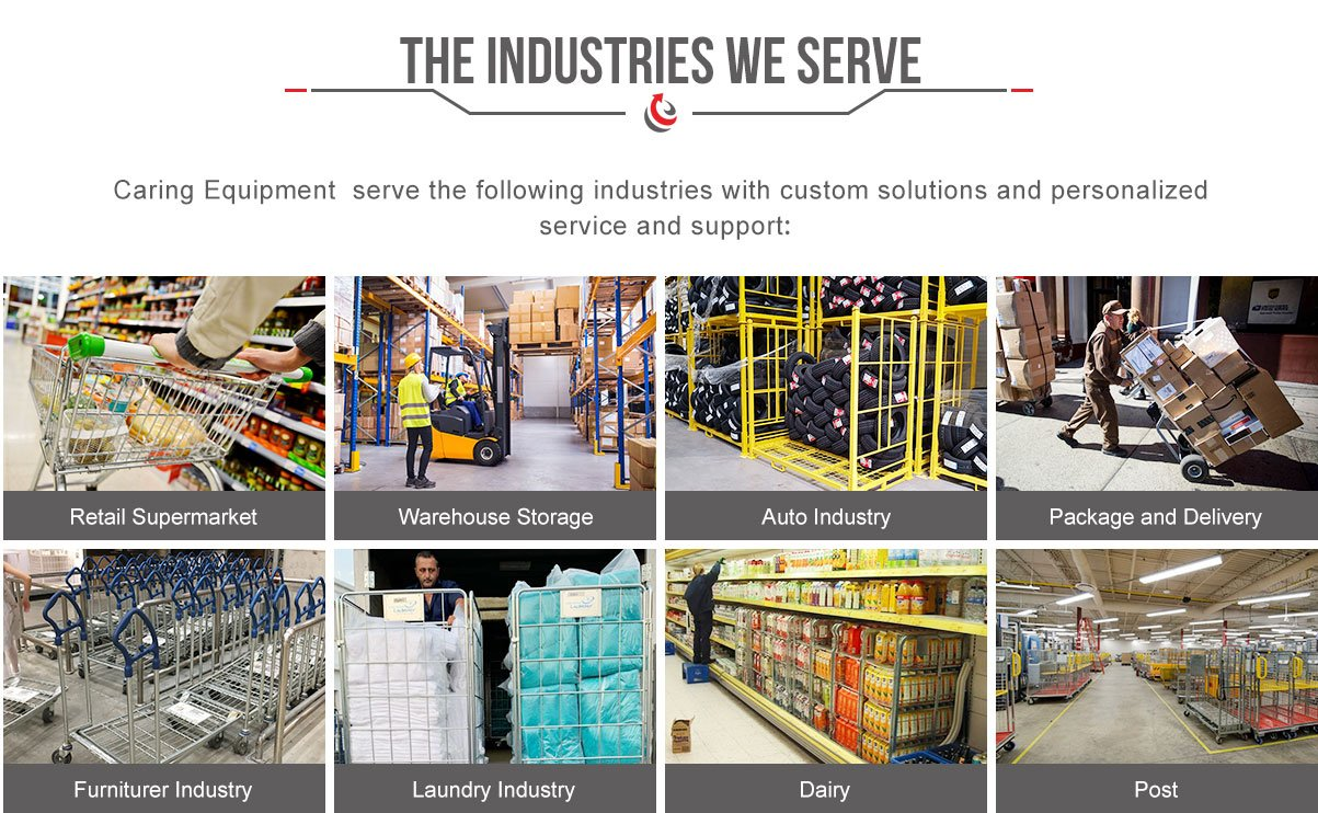 logistic solutions-CARING material handling equipment